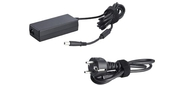 Dell Power Supply European 65W AC Adapter with power cord  (Latitude 6430u, 3330, Vostro 2421, 2521)