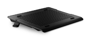 "Cooler Master Laptop Cooling NotePal A200 Black  (16"",  1x (140x140),  fan speed control,  aluminum surface,  2xUSB)"