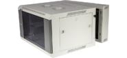 Шкаф настенный серии Pro,  3-секционный,  15U 600x600,  стеклянная дверь