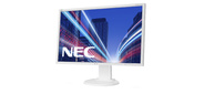 "NEC E223W,  22"",  monitor; 16:10, 1680x1050; 0, 282mm; 5ms;250cd / m2; 1000:1; 178 / 178;Hight adj.:110, Swivel;Tilt;D-Sub, DVI-D;Internal PS;TCO6;ISO 9241-307 (pixel failure class I),  Silv / White"