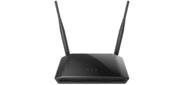 D-Link DIR-615 / T4D Роутер 2.4 ГГц,  N300,  входной интерфейс: 10 / 100BASE-TX,  4 порта 10 / 100Base-TX,  web-интерфейс управления,  FireWall,  2 внешние антенны