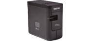 Принтер наклеек Brother PT-P750,  ленты TZE / HSE до 24 мм,  кол-во строк любое,  30 мм / сек,  автонож с полуобрезом,  USB / WiFi / NFC,  печать ШК