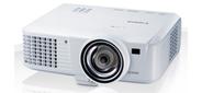 Canon projector LV-WX310ST,  DLP,  1280x800  (WXGA),  Short Throw,  3100 Lm  (2450 Lm Eco Mode),  10000:1,  4000 Hrs  (6000 Hrs Eco Mode),  USB-B,  HDMI 1.3,  LAN,  2, 8 kg