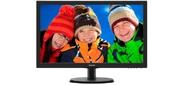 "Philips 223V5LHSB 21.5"" W-LED 1920x1080 16:9 5ms VGA,  HDMI,  20M:1 170 / 160 250cd,  Black"