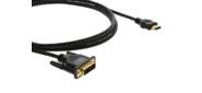 Kramer C-HM / DM-3 Кабель HDMI-DVI  (Вилка - Вилка),  0, 9 м