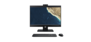 """Acer Veriton Z4860G  All-In-One 23, 8"""" FHD 1920 x 1080 IPS,  i3 9100,  4GbDDR4,  128 GB SSD,  Intel UHD Graphics 630,  DVD-RW,  WiFi + BT5,  USB KB & Mouse,  black,  no OS 3Y carry in"""