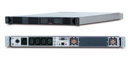 Black Smart UPS RackMount 750VA,  Line-Interactive,  1U,  USB and serial connectivity,  Automatic Voltage Regulation,  user repl.batt,  SmartSlot