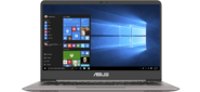 "ASUS Zenbook UX410UF-GV011R Intel Core i7-8550U / 16384Mb / 1Tb / 256гб M.2 SSD / GF MX130 2G / 14.0""FHD  (1920x1080)AG / WiFi / BT / Cam / Win10Pro64 / Grey / Illuminated KB / 1.4kg / Sleeve"