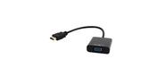"HDMI->D-Sub (F)+аудио Gembird ""Cablexpert A-HDMI-VGA-03""  (0.15м)"