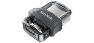 SanDisk SDDD3-256G-G46 Ultra Android Dual Drive OTG,  256GB,  m3.0 / USB 3.0,  Black