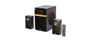 Dialog Progressive AP-240B BLACK - акустические колонки 2.1,  50W+2*10W RMS,  Bluetooth,  USB+SD reader