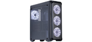 Корпус Zalman I3,  ATX Midi Tower,  без БП,  боковое окно,  195 (Ш) x 467 (В) x 457 (Г) мм,  черный,  ATX /  Micro ATX /  MINI-ITX,  отсеки 5.25х1,  3.5х2,  2.5х2,  USB 2.0x2,  USB 3.0x1,  front mesh