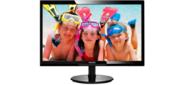 "24"" Philips 246V5LDSB 1920x1080 TN LED 16:9 1ms VGA DVI HDMI 10M:1 170 / 160 250cd Black"