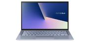 "ASUS Zenbook 14 UX431FA-AM020 Core i3 8145U / 4Gb / 256GB SSD / Intel UHD 620 / 14""FHD IPS AG (1920x1080) / WiFi / BT / Cam / 4 way speakers / DOS / Illum KB / 1, 49kg / Utopia Blue Metal / Sleeve"