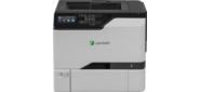 Принтер лазерный Lexmark CS725de белый,  лазерный,  A4,  цветной,  ч.б. 47 стр / мин,  цвет 47 стр / мин,  печать 1200x1200,  лоток 550+100 листов,  USB,  Wi-Fi,  NFC,  двусторонний автоподатчик,  сеть