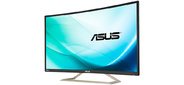 "ASUS 31.5"" VA326H VA LED изогнутый,  1920x1080,  4ms,  300cd / m2,  100Mln:1,  178° / 178°,  D-Sub,  DVI,  HDMI,  up to 144Hz,  Tilt,  колонки,  VESA,  Black,  90LM02Z1-B01170"