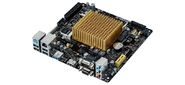 ASUS J1900I-C Intel Quad-Core Celeron J1900  2xSo-Dimm DDR3L  (8Gb / 1333),  VGA (HDMI+D-SUB),  1xPCI-e x1,  1x mPCI-e,  8xAudio,  1xGBL,  2xSATAII,  1xUSB3.0,  6xUSB2.0,  1xCOM,  1xPS / 2  mITX