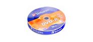 Verbatim 43729 Диск DVD-R  4.7 Gb,  16x,  Shrink  (10),   (10 / 300)
