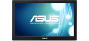 "ASUS MB168B 15.6"" USB-Portable Monitor,  LED,  1366x768,  11ms,  200cd / m2,  500:1,  90° / 65°,  USB 3.0x1,  Pivot Auto-Rotate,  Ultra-slim,  0.8Kg,  Smart Case,  Silver + Black,  90LM00I0-B01170"