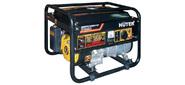 Генератор Huter DY3000LX,  электростартер,  220В,  2.5кВт,  выход 12В,  вес 45 кг