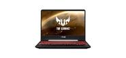 """ASUS TUF FX505DU-AL079T 15.6"""" (1920x1080  (матовый,  120Hz)) / AMD Ryzen 7 3750H (2.3Ghz) / 16384Mb / 512SSDGb / noDVD / Ext:nVidia GeForce GTX1660Ti (6144Mb) / Cam / BT / WiFi / war 1y / 2.3kg / black / W10"""