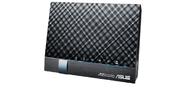 Маршрутизатор ASUS DSL-AC56U Wireless Dualband VDSL2 / ADSL Modem AC1200 Router,  802.11ac,  867 +300 Mbps,  Dual CPUs,  Hardware Dual Wan,  2.4Ghz / 5Ghz con-current dualband,  Giga LAN4,  300K session download