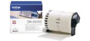 Бумажная клеящаяся лента Brother DK22243  (белая,  ширина 102 мм)