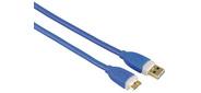 Hama H-39682 Кабель USB 3.0 A-micro B  (m-m),  1.8 м,  позолоченные контакты,  экранированный,  5 Гбит / с