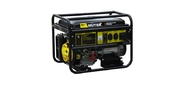 Huter DY9500LX 64 / 1 / 40 Электрогенератор четырехтактный,  7500Вт,  220В / 50Гц,  91Дб,  принудительное охлаждение,  бак 25 л,  расход бензина 374 г / кВтч,  расход масла 6, 8 г / кВтч,  электростартер
