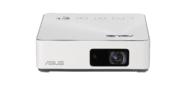 ASUS S2 White DLP,  LED,  720p 1280x720,  500Lm,  1000:1,  HDMI,  USB Type-C,  1x2W speaker,  WiFi,  3D Ready,  led 30000hrs,  battery,  White,  0.497kg