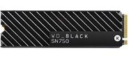 Накопитель твердотельный WD Твердотельный накопитель SSD WD Black SN750 NVMe WDS500G3XHC 500ГБ M2.2280  (с радиатором)