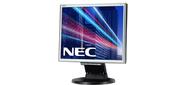 "NEC 171M-BK,  17"",  250cd / m2,  1000:1,  5ms,  1280x1024,  170 / 170,  Height adjustable 0.26mm,  Tilt; D-Sub,  DVI-D,  Internal PS; 2*1W; TCO6,  Black"