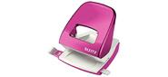 Esselte Leitz NeXXT 50082023 макс.:30лист. металл розовый металлик отв.:2 с линейкой
