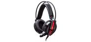 Наушники с микрофоном Oklick HS-L450G черный 2.2м мониторы оголовье
