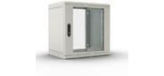 Шкаф телекоммуникационный настенный 12U  (600  300) дверь стекло
