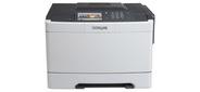 LEXMARK 28E0070 Принтер CS510de Лазерный цветной A4,  1200*1200dpi,  30 стр / мин,  дуплекс,  сеть,  256MБ