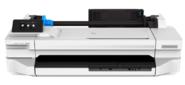 "Широкоформатный принтер HP DesignJet T130 Printer  (24"", 4color, 1200x1200dpi, 256Mb,  35spp (A1), USB / LAN / Wi-Fi, rollfeed, sheetfeed, tray50 (A3 / A4),  autocutter, 2y warr)"