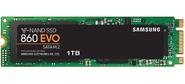 Накопитель SSD Samsung SATA III 1Tb MZ-N6E1T0BW 860 EVO M.2 2280
