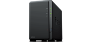 Synology PC-Less Surveillance Solution,  HDMI 1080p,  RAID0, 1, 5, 6 / up to 2HDDs SATA (3, 5') (up to 7 with DX517) / 1x USB 3.0,  2x USB2.0 / 1xCOM / 4 IP cam (up to 12) / 1xGigabit LAN / 3YW