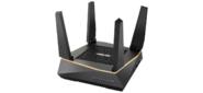 ASUS RT-AX92U  /  /  роутер,  из 1 точки доступа,  802.11ax,  400 + 867+ 4804 Mbps,  2, 4 + 5 гГц,  ; 90IG04P0-MO3010