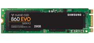 Samsung MZ-N6E250BW,  860 EVO SSD,  M.2 2280,  SATA-III,  250Gb,  V-NAND 3bit MLC