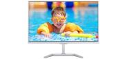 """23, 6"""" Philips 246E7QDSW PLS 1920x1080 16:9 5ms VGA,  DVI,  MHL-HDMI,  20M:1 178 / 178 250cd,  White."""