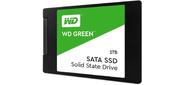 "Накопитель SSD WD Original SATA III 1Tb WDS100T2G0A Green 2.5"""