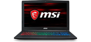 "MSI GF62 8RD-267RU Core i5 8300H / 8Gb / 1Tb / nVidia GeForce GTX 1050 Ti 4Gb / 15.6"" / FHD  (1920x1080) / Windows 10 / black / WiFi / BT / Cam"