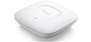 300Mbps Wireless N Ceiling / Wall Mount Access Point,  QCA (Atheros),  300Mbps at 2.4Ghz,  802.11b / g / n,  1 10 / 100Mbps LAN port,  Passive PoE Supported,  with 2*4dbi Internal Antennas