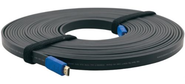 Kramer C-HM / HM / FLAT / ETH-15 Кабель HDMI-HDMI   (Вилка - Вилка),  4, 6 м