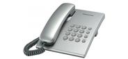 Panasonic KX-TS2350RUT,  титан,  повтор номера,  регул-ка громкости,  кр.на стену