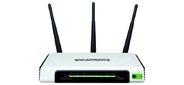 TP-Link Advanced wireless N Router,  Atheros,  2.4GHz,  802.11n / g / b,  Built-in 4-port Switch,  with 3 fixed antennas