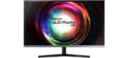 "Samsung U32H850UMI 31.5"" VA LED 4ms 16:9 HDMI матовая HAS Pivot 3000:1 250cd 178гр / 178гр 3840x2160 DisplayPort Ultra HD USB 8.8кг / серебристый / черный"