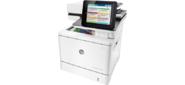 HP LaserJet Enterprise Flow MFP M577c  (p / c / s / f,  A4,  1200 dpi,  38 (38)ppm,  1, 75Gb,  320Gb encr,  2trays 100+550,  ADF 100,  Duplex,  Stapler,  USB / GigEth / FIH,  color LCD TS, repl.CD646A)